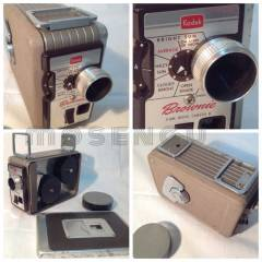 Kodak Brownie II Kurmal� 8mm Film/Sinema Kamera
