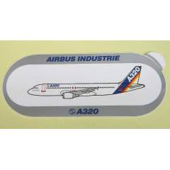 AIRBUS INDUSTRIE - A320 ESK� U�AK STICKER