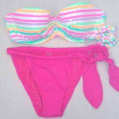 VICTORIAS SECRET 2014 PAYETL� PUSHUP BIKINI SON