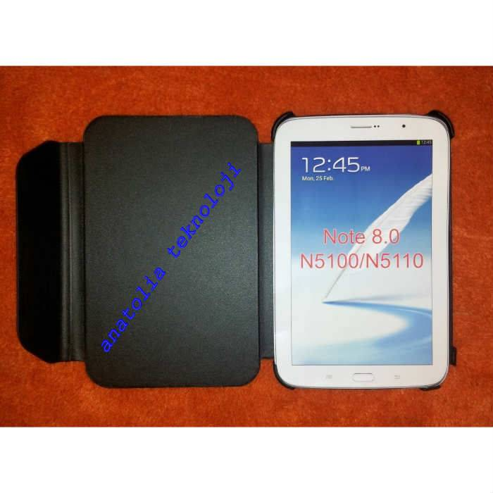 SAMSUNG GALAXY NOTE 8.0 N5105 BOOK COVER KILIF