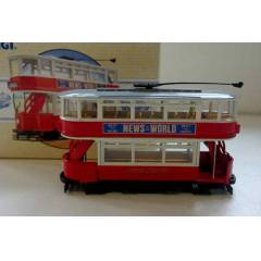 Corgi Classics Diecast Closed Top Tram LONDON