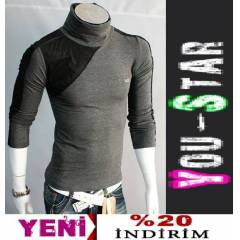 Youstar Japon Bo�azli  Fashion Kazak (Y765)