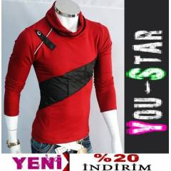 Youstar Japon Bo�azli  Fashion Kazak (S654)