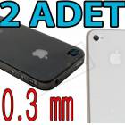 2 ADET iPhone 4/S KAPAK �NCE 0.3mm �NCE KILIF