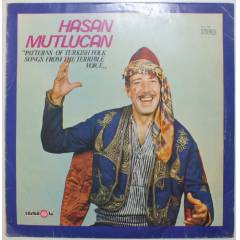 HASAN MUTLUCAN PATTERNS OF TURKISH FOLK LP ALB�M
