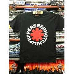 RED HOT CHILI PEPPERS LOGO TSHIRT �cretsiz Kargo