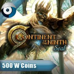 C-9 Continent Of The Ninth Seal - 500 W Coins