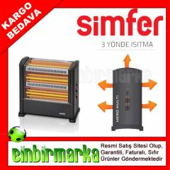 Simfer S-2750WT Quartz Is�t�c� Soba