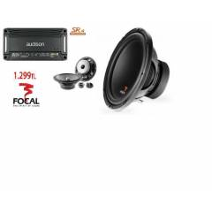 KOMPLE SET FOCAL BAS + AUD�SON ANF� + FOCAL M�D