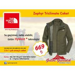 THE NORTH FACE Zephyr Triclimate Ceket ORIGINAL