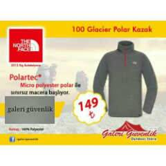 THE NORTH FACE 100 Glacier Polar Kazak POLARTEC