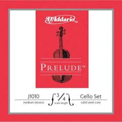Daddario J1010 Prelude 3/4 Cello Strings Medium