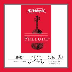 D'Addario J1012 4/4 Prelude Cello Single D, Medi