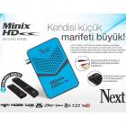 Next Minix Hd Mini Uydu Al�c�s� Mavi Full Hd