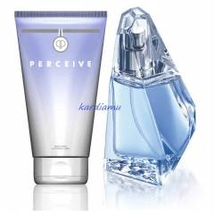 AVON PERCEIVE BAYAN PARF�M EDP 2L� SET