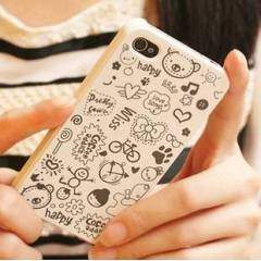 APPLE iPHONE 4/4S KILIF KAPAK MAGIC GIRL