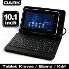 "DARK 10.1"" TABLET UYUMLU DER� KILIF VE STAND"