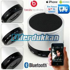 Bluetooth Hoparl�r Speaker Mini HD Ses Bombas�