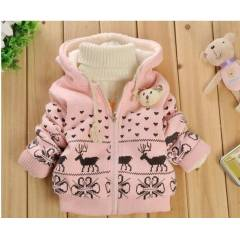 ��i Polarl� Bebek / �ocuk H�rka % 100 Cotton