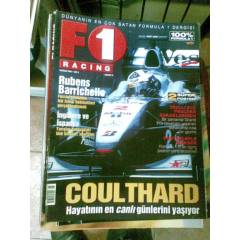 F1 RACING HAZİRAN 2000-RUBENS BARRİCHELLO