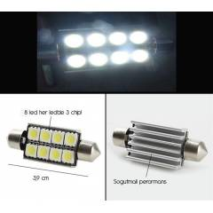 Transformacion 8 LED 24 Chip li 39 mm Sofit Amp�