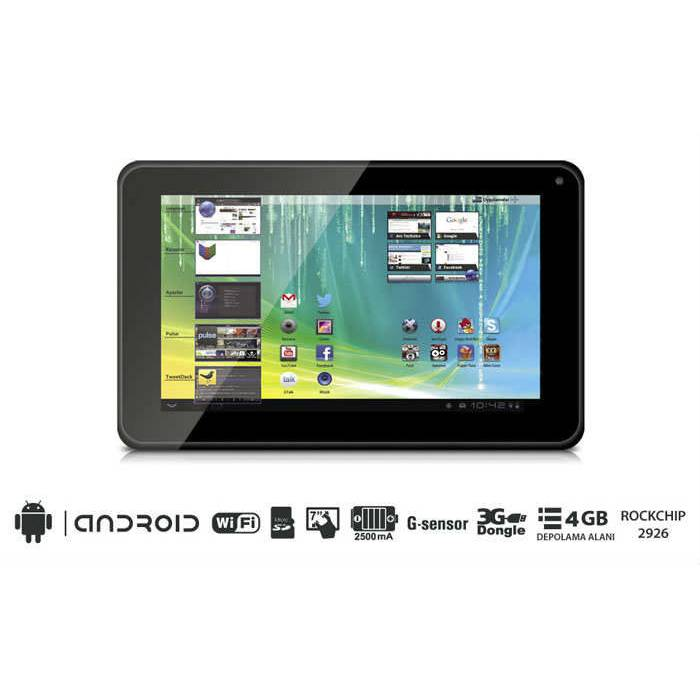 Massive M-707 7inc 16GB  Tablet PC �OK F�YAT