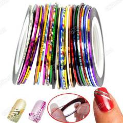 Striping Tape Line Nail Art Decoration Stickers