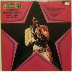 ELVIS PRESLEY - Sings Hits from his Movies LP