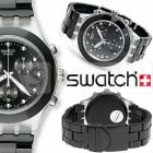 Swatch SVCK403AG Full Blooded Night Kol Saati