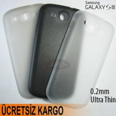 SAMSUNG GALAXY S3 i9300 0,2mm ULTRA SL�M S.KILIF