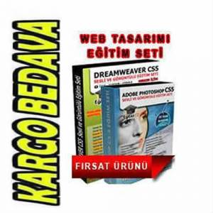 Dreamweaver + Photoshop WEB TASARIMI E��T�M SET�