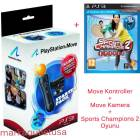 Playstation 3 Move Pack+Sports Champions 2 Oyunu