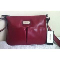 NINE WEST - MAROON LOVE Kad�n �anta