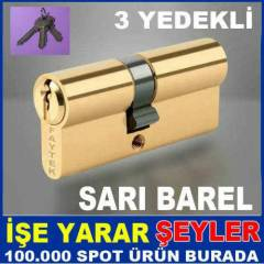 70mm DAYANIKLI SARI BAREL K�L�T G�BE��