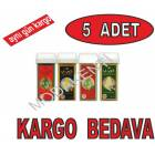 5 ADET-Vivet Roll-on Kartu� A�da