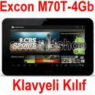 "ExconM70T-4Gb 7"" Tablet Pc Arka/�n Kamera+Klavy"