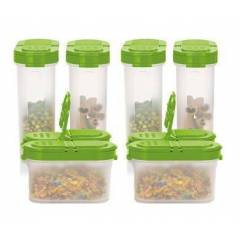 TUPPERWARE  BAHARAT�IK 4'L�  SET - YE��L