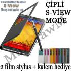 GALAXY NOTE 3 KILIF S VIEW MODLU ��PL� PENCEREL�