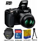 Nikon Coolpix L310 14MP HD Foto�raf Makinesi