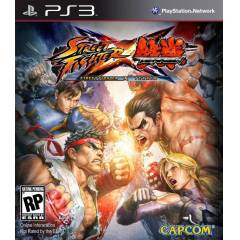 STREET FIGHTER X TEKKEN PS3 GAME