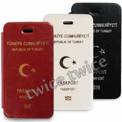 iPhone 5S KILIF PASAPORT RES�ML� KAPAKLI FLIP