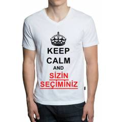 KEEP CALM AND ( S�Z�N SE��M�N�Z ) T-SHIRT