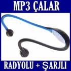 Radyolu Sport Mp3 Player Micro Sd Kart Giri�li
