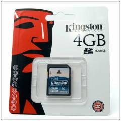 KINGSTON 4GB Sdhc Haf�za Kart� Class 4