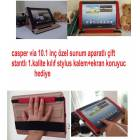 Casper Nirvana 10.1 in� Tablet K�l�f� �zel Yeni