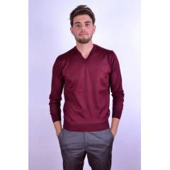WOOLEN WORLD ERKEK KAZAK YEN� SEZON BORDO