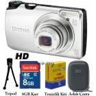 CANON A3200 14.1 MP HD Foto�raf Makinesi
