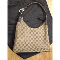 Gucci Kahve GG Canvas Hobo 115003 Shoulder Bag