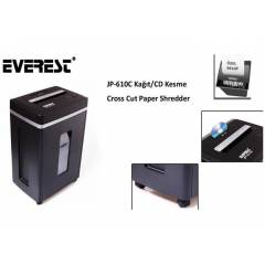 Everest JP-610C Ka��t Kesme Cross Cut Paper Shre