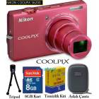 Nikon s6200 16MP HD Dijital Foto�raf Makinesi